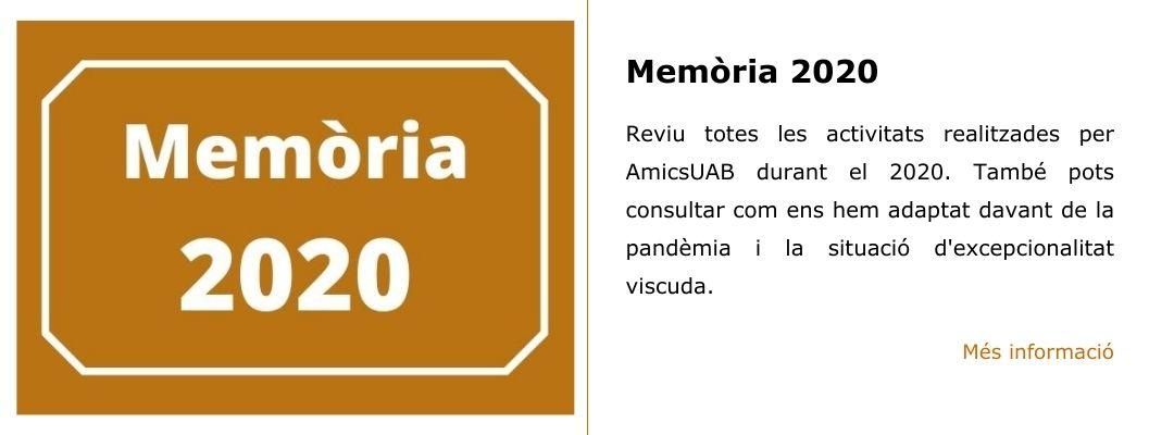 Memòria 2020