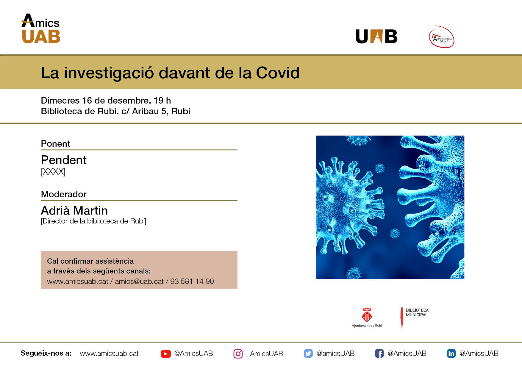 Investigació COVID-19