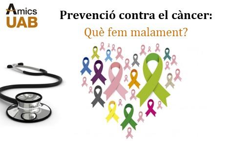 Prevenció contra el càncer