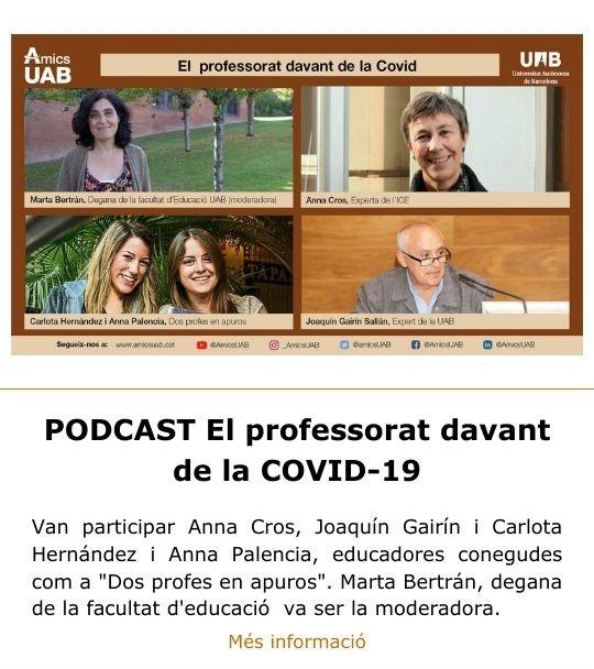 Professorat COVID