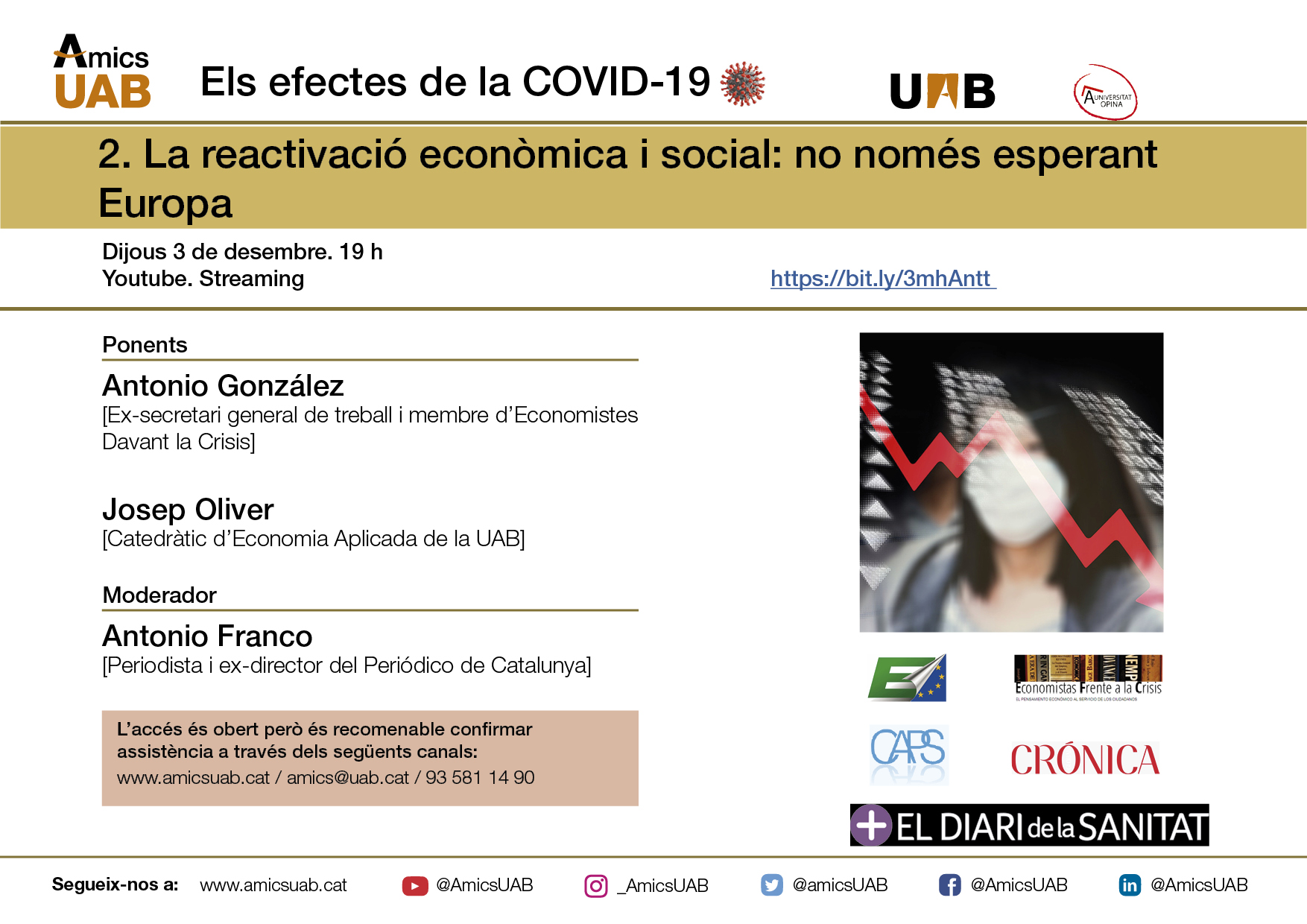 Reactivació econòmica i social