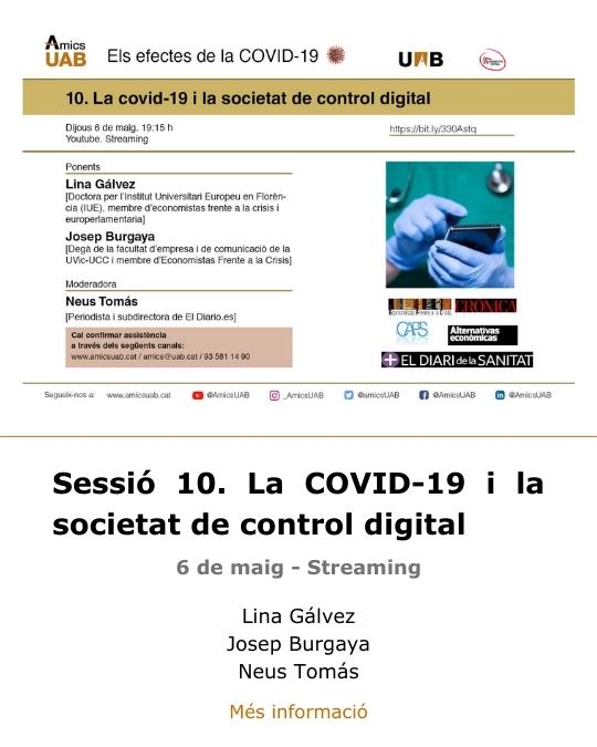 Sessió 10. Covid-19