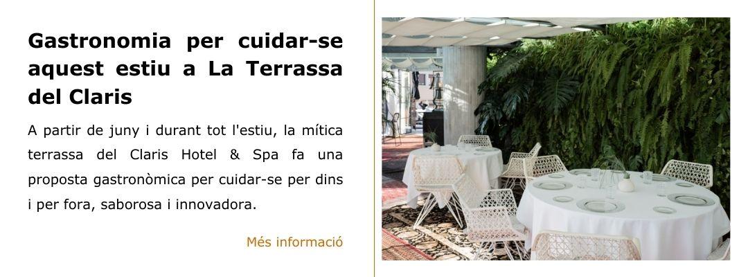 Terrassa Claris